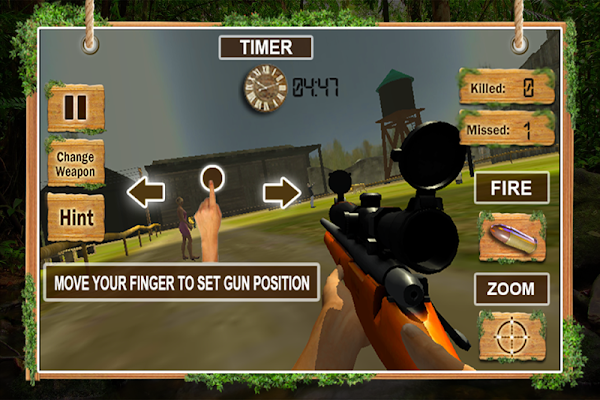 Safari Wild Lion Sniper Hunter - screenshot