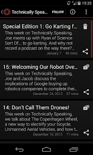 Podiversity Audio Podcasts- screenshot thumbnail