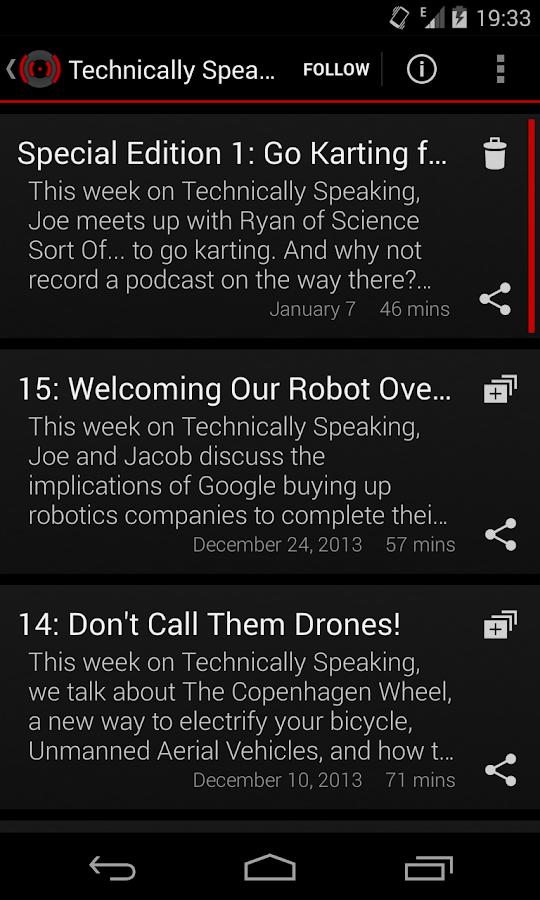 Podiversity Audio Podcasts- screenshot