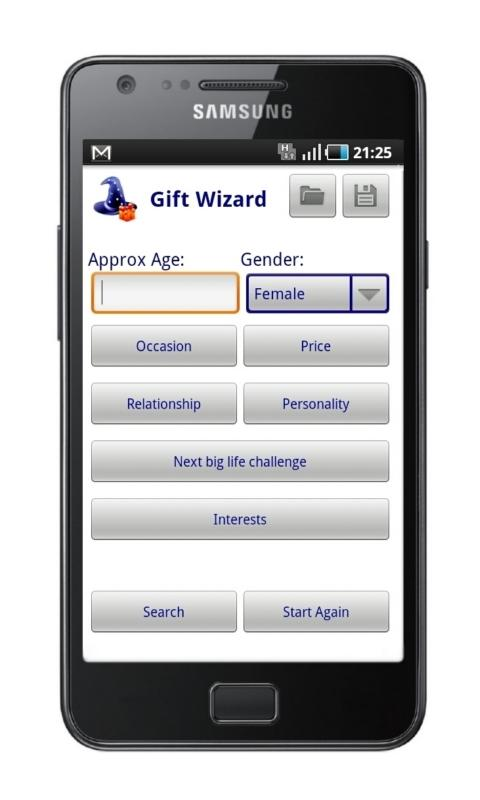 Gift Wizard- screenshot