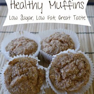 Low Sugar Healthy Muffins.