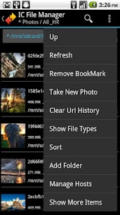 IC File Manager- screenshot thumbnail