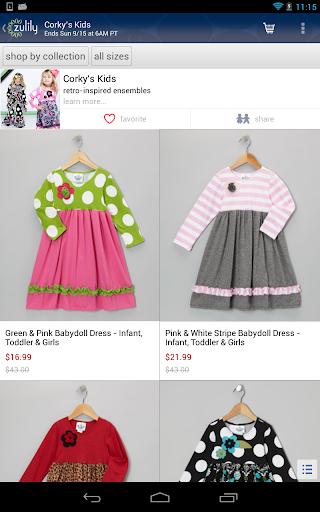 zulily: Deals for Women & Kids Screenshot