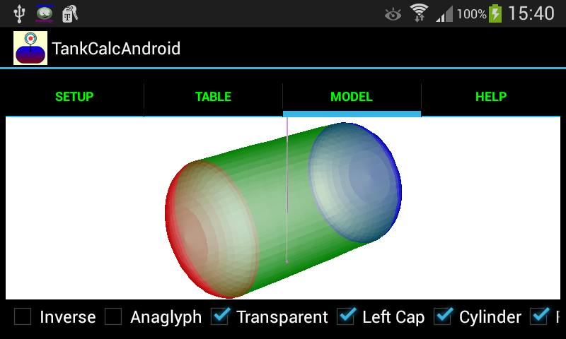 TankCalcAndroid- screenshot