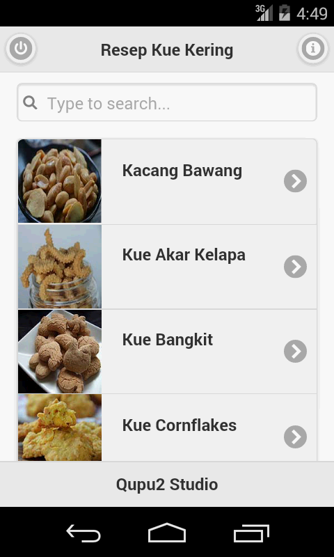 Resep Kue Kering - Android Apps on Google Play
