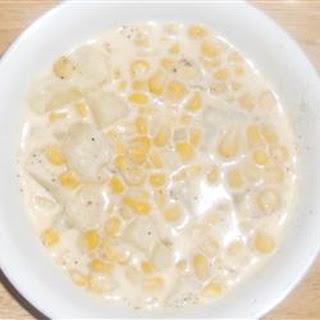 Southwest Style Creamy Corn Chowder.