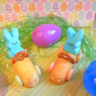 Bunny Peeps Race Cars | Easter Treat Idea