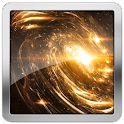 Spiral Galaxy Live Wallpaper icon