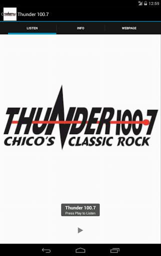 Thunder 100.7