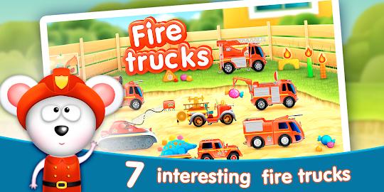 Firetrucks: rescue for kids Screenshot 1