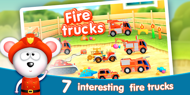 Firetrucks: rescue for kids Screenshot 1