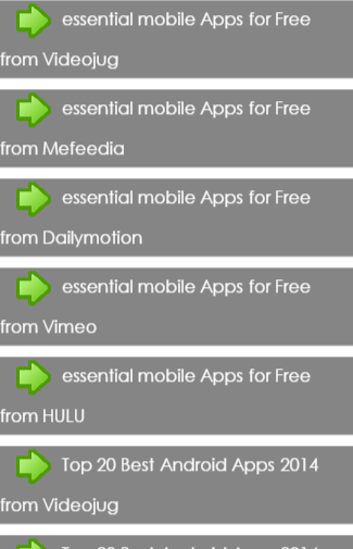 essential mobile Apps for Free