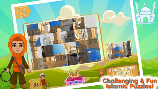 Islamic Mosque Puzzles Game
