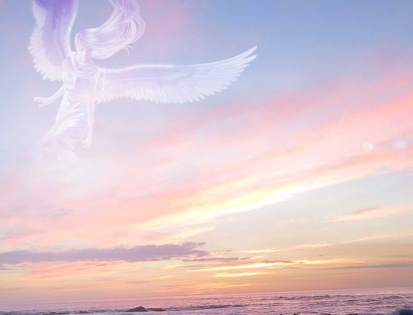 Instant Messaging Angel : Free angel message