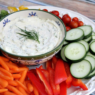 Curry- Dill Dip