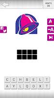 Screenshot of Logo Quiz! - Food