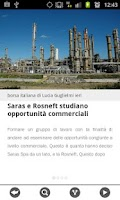 Screenshot of News finanza e borsa italiana