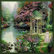 Gazebo Garden Live Wallpaper