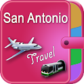 San Antonio Offline Map Guide icon