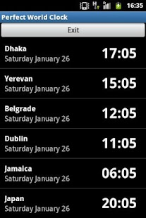 Time Zone Clock - screenshot thumbnail