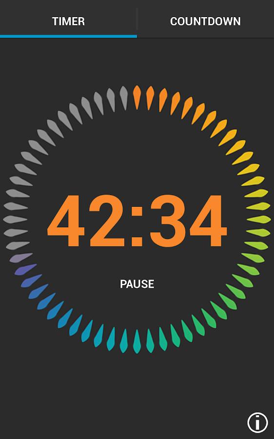 Digital Timer- screenshot