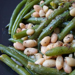 White & Green Beans