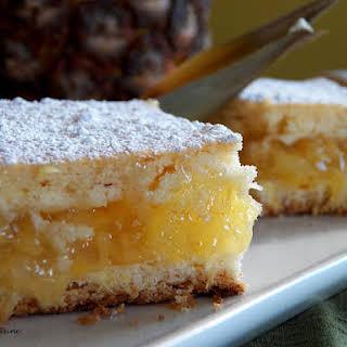 Pineapple Pie Squares.