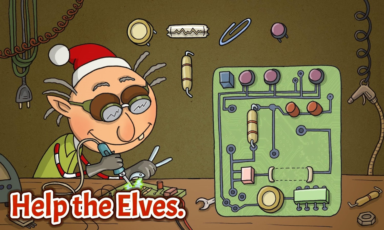 Elf Adventure Christmas Story- screenshot
