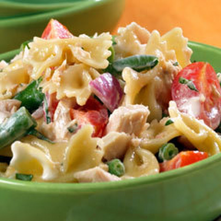 Trackside Tuna & Bow Tie Salad Recipe