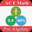 ACT Math : Pre-Algebra icon