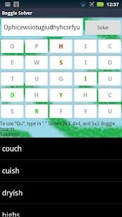 Boggle Solver- screenshot thumbnail