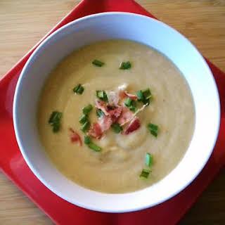 Creamy Quinoa Onion Soup.