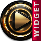 Poweramp Widget Golden Empire