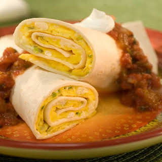 Tortilla Omelet Roll-up.