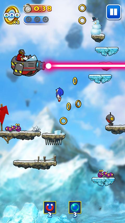 Sonic Jump - screenshot