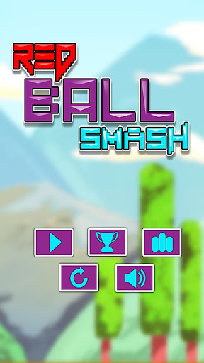 【免費動作App】Red Ball Smash-APP點子