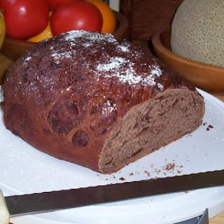 Chocolate Bread.
