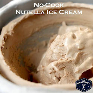 No-Cook Nutella Ice Cream