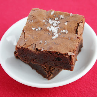 Salted Fudge Brownies.