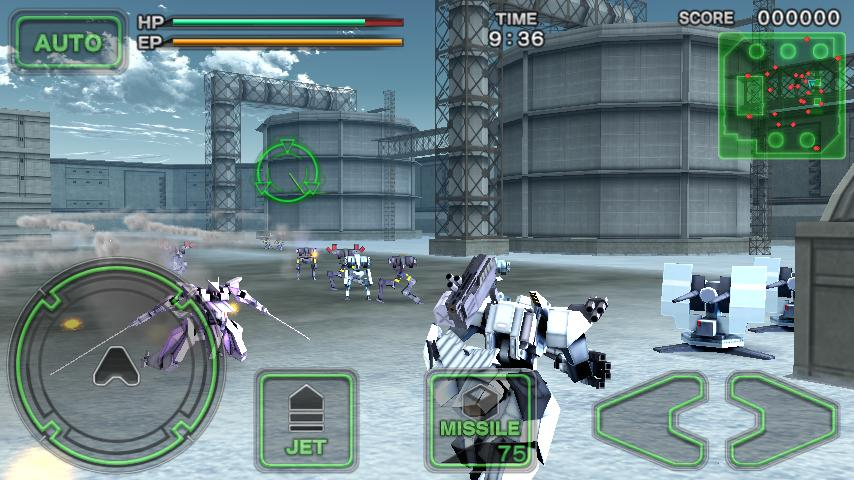 Destroy Gunners SP / ICEBURN!! - screenshot