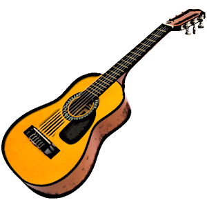 Virtual Guitar Will Turn Your Android Phone Into Real Classical But With Ability To Allow You Play Whatever Want Its Practically