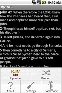 KJV Bible- screenshot thumbnail