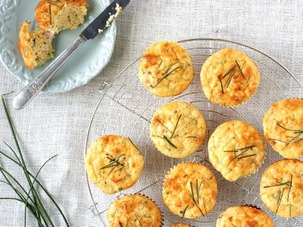 Ham and Cheese Muffins Recipe