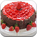 Make Strawberry Cake recipes icon