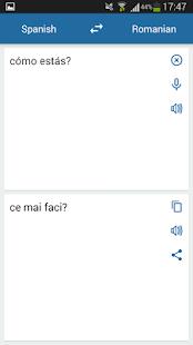 Spanish Romanian Translator - náhled