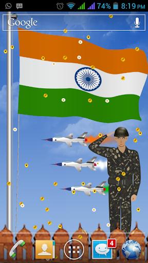Flag Of India HD LWP