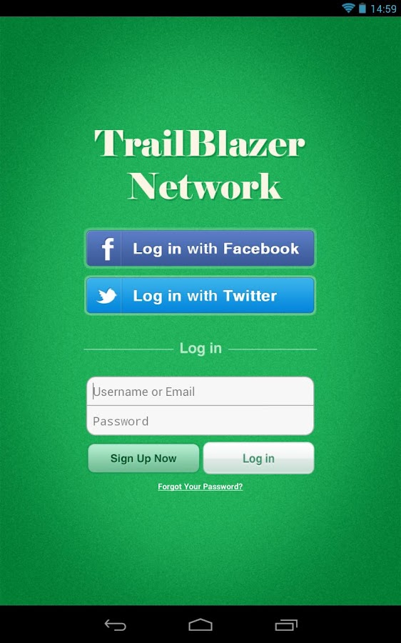 TrailBlazer Network- screenshot