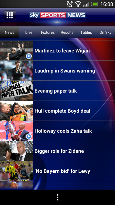 Sky Sports News - screenshot