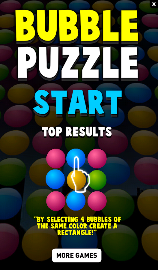 Bubble Puzzle Free Brain Game - screenshot