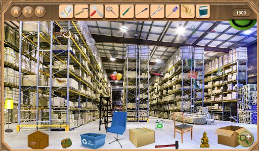 Warehouse Hidden Objects